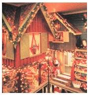 Рождественский дворец в Дрёбаке (Tregaardens Julehus)| Норвегия