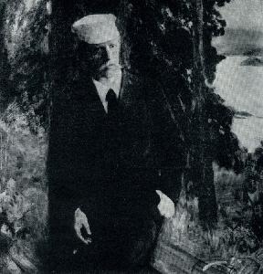 Эрик Вереншелль. Портрет Фритвофа Нансена. Ок. 1896 г.
