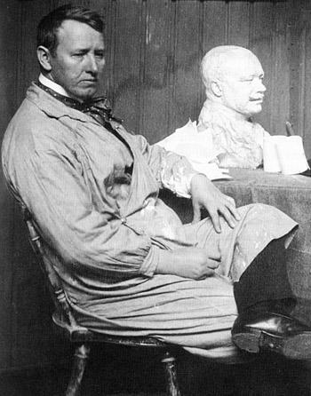 Густав Вигеланд - норвежский скульптор