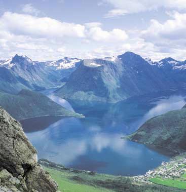 За первое полугодие 2008 года в Норвегии побывало на 30% больше туристов