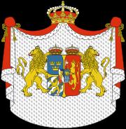 Герб унии Швеция-Норвегия