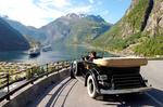 Хотите прокатиться по Норвесжкому фьорду на роскошном автомобиле ХХ века?