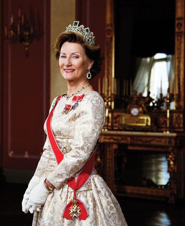 Её Величество Королева Норвегии Соня