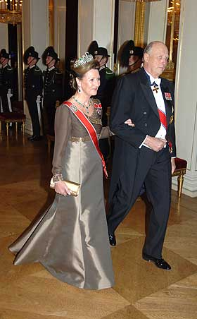 Её Величества Королева Норвегии Сония