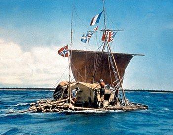 """Экспедиция на плоту """"Кон-Тики"""""""