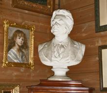 Бюст Бьёрнсона в доме Грига (Берген)