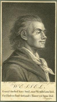 Йохан Херман Вессель, датский и норвежский поэт