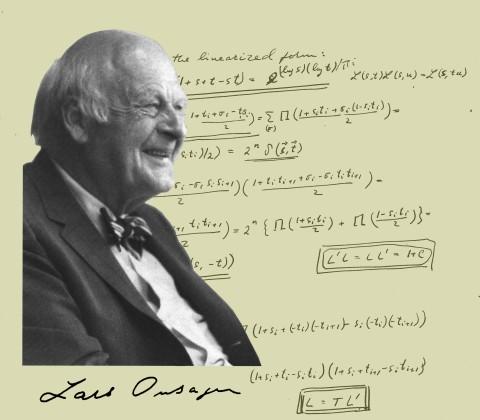 Ларс Онзагер, норвежско-американский физхимик и физик, лауреат Нобелевской премии по химии (1968)