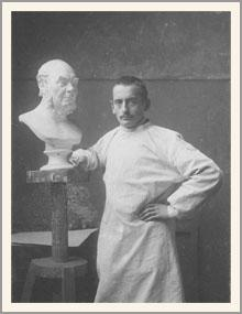 Брийнульф Ларсен Бергслин, норвежский скульптор