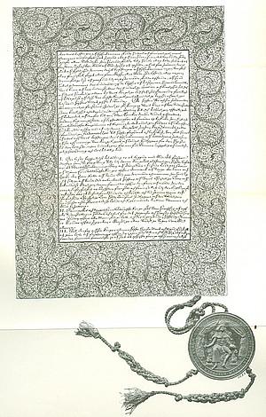 Королевский Закон (Lex Regia) от 14 ноября 1665 года