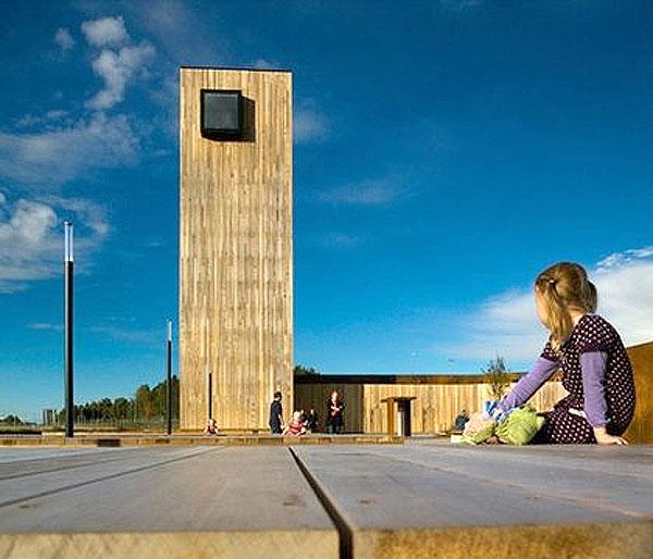 На границе Норвегии и Швеции создали парк для автопутешественников