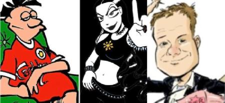 Få med deg norske tegneseriehelter på vinzavod!