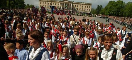 17 мая – норвежский национальный праздник