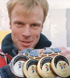 Бьорн Эрленд Дэли, норвежский лыжник