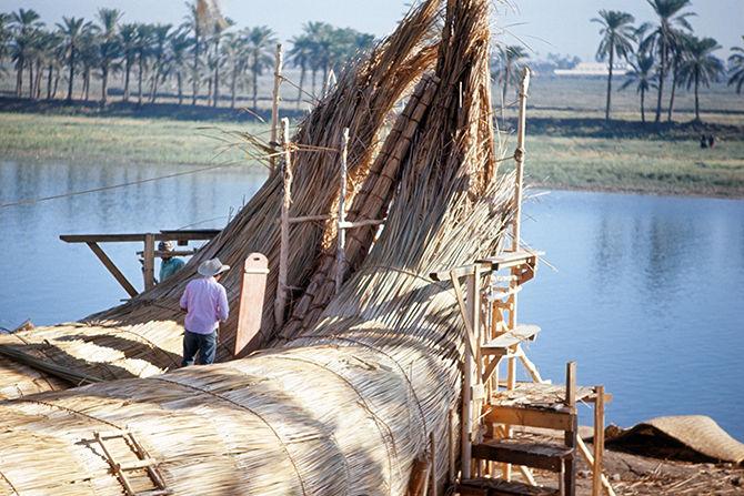 Надувные лодки в Вавилоне