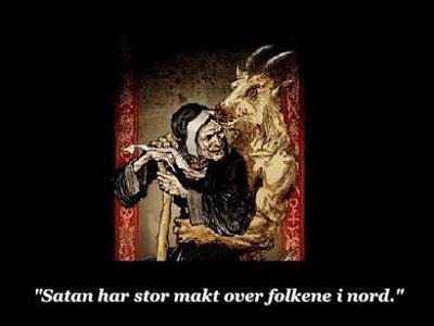 Ведьмы в Норвегии